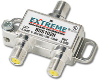 Extreme BDS102H 2-way Digital High Performance TV Coax Cable Splitter Fast Ship!