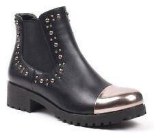 Damenstiefel & -stiefeletten im Boots-Stil mit Reißverschluss Ankle 30-39 Größe