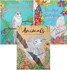 ADULT+ANTI-STRESS+Colouring+Book+Books+-+ANIMALS+BIRDS+-+BUTTERFLIES+-+ALL+AGES