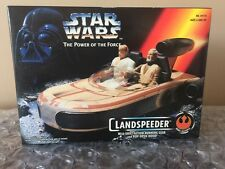 1995 Kenner Star Wars POTF Landspeeder w/Shift-Action Gear & Pop-Open Hood New