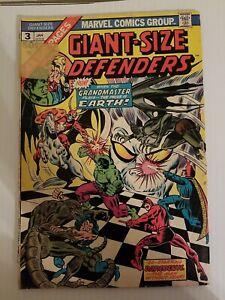 GIANT-SIZE DEFENDERS #3 (MARVEL 1975) 1st KORVAC W/ MARVEL.