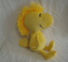 "Woodstock Peanuts Gang Yellow Bird Plush Stuffed Animal Toy 14"" Tall Kohls Cares"