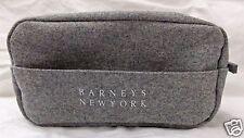 Barneys New York Make-Up Bag Cosmetic Toiletries Case Gray Felt  Ltd. Edition