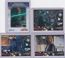Upper Deck Marvel Avenger Endgame /125 Numbered Card Lot x4