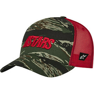 Alpinestars Tropic Hat - Military/Red - One Size
