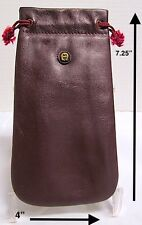 *Vintage*1970's Aigner Draw String Sunglasses Pouch*