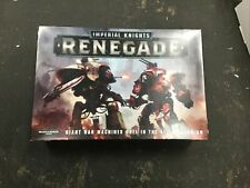 Warhammer 40k Imperial Knights Renegade (New, Sealed)