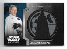 Star Wars Rogue One Mission Briefing Commemorative Patch #5 Director Krennic