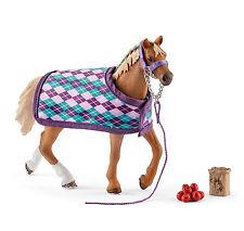 Schleich 42360 Horse Club Englisches Vollblut mit Decke und Zubehör NEU OVP