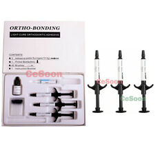 Dental Orthodontic Brackets Brace Glue Bonding Light Cure Adhesive Composite Kit