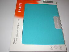 Cygnett Alumni Canvas Case Inside Pocket for iPad 1st, 2nd, 3rd & 4th Gen Blue