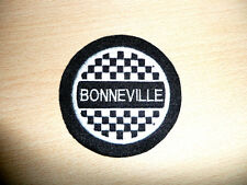 CLASSIC TRIUMPH BONNEVILLE  EMBROIDERED MOTORCYCLE PATCH