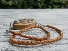 Wrap Leather Braid Bracelet for the Bellabeat LEAF