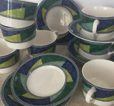 1 MIKASA Ultima+COLOR IMAGE Pattern HK230 Espresso Cup & Saucer Set 7 Available