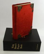 KING HENRY'S PRAYER BOOK FOLIO SOCIETY LTD EDITION
