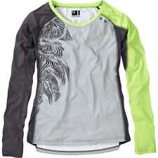 Madison Flux Enduro Women's Long Sleeve Jersey Grey Size 12
