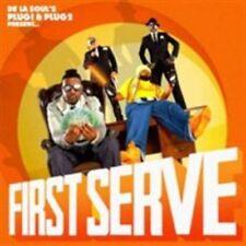 De La Souls Plug 1 and 2 Present - First Serve CD Play It Again Sam