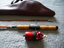 Vintage Fishing rod and reel Bronson 63 Underspin USA No True Temper Stunning