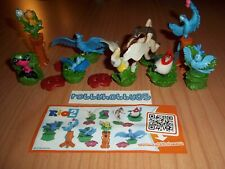 RIO 2 COMPLETE SET WITH ALL PAPERS KINDER SURPRISE 2014