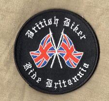 Biker Patch Ride British Biker Ride Britannia