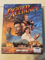 Jagged Alliance PC 1994 the First one! Original Big Box! Rare and Vintage!