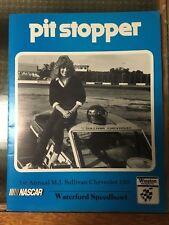 Pit Stopper Waterford Speedbowl Winston Nascar Chevrolet 100 Program 1985