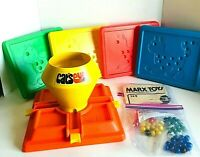 Cat's Eye Game Vintage Marx Toys With Box and Marbles