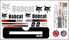 S630 replacement premium decal kit sticker set with warning decals fits bobcat