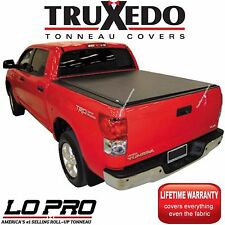 Truxedo LoPro QT Inside Rail Tonneau Cover 15-18 Silverado 2500HD 6'6 Bed 572001