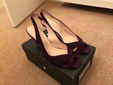 4003c87989a4 HOBBS Suede slingback heels Size 40 RRP £149