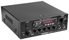 DJ PA HiFi Endstufe Power Amp Bluetooth Verstärker Karaoke Amplifier USB SD AUX