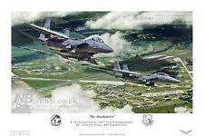492nd Fighter Squadron F15E, RAF Lakenheath Digital Artwork