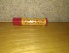 VHTF Burt's Bee's Lifeguard's Choice Weatherproofing Lip Balm .15 oz (4.25g)