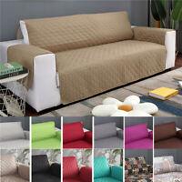 Quilted Waterproof Sofa Slip Covers Anti Slip Pet Furniture Sofa Protector Throw