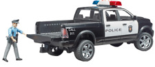 Bruder 02505 Dodge Ram Police Truck 4+ NEW Michigan Lights & Sound Officer 911