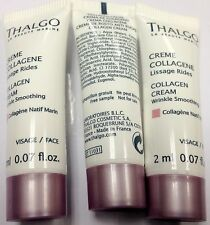 Lot of 5pcs Thalgo Collagen Cream sample 2ml 0.07oz #grukpa