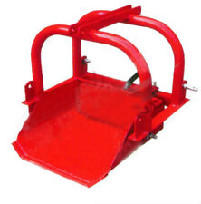 "DIRT SCOOP BUCKET Reversible SUIT TRACTOR 20-40HP 24"" 9 CUFT 3 Point Linkage"