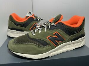 "New Balance 997 ""Cordura"" Men's Size 6.5 & 15 Olive Green/Orange *RARE* CM997HJR"