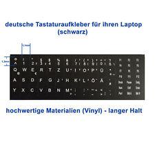 Deutsche Tastaturaufkleber HP Laptop Tastatur Aufkleber Notebook blk. 69 Tasten