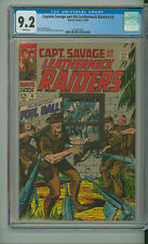 CAPTAIN SAVAGE AND HIS LEATHERNECK RAIDERS 8 CGC 9.2 BONDAGE SILVER MARVEL 1968