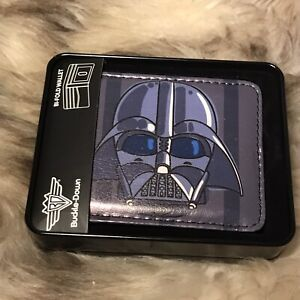 New In Box Buckle-Down Men's Bi-fold Wallet -   Star Wars Darth Vader Design