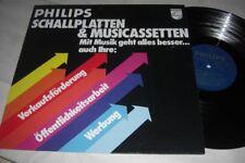 (7186) Werbeplatte - Philips - Mit Musik geht alles besser .. auch ihre :