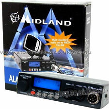 Midland Alan 78 Plus Multi B Band 12v Car Taxi 80 Channel CB Radio Transceiver