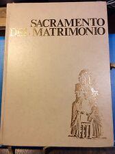 1052-4 Sacramento del matrimonio 1975 Rituale romano Messale Conf. Ep. Italiana