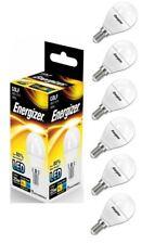 6 x Energizer E14 SES Golf LED Light Bulb 250lm Opal 3.4W=25W Warm White 2700k
