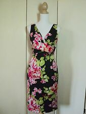 SALE re-launch STUNNING floral wiggle dress UNBELIEVABLE  stretch NWT $169