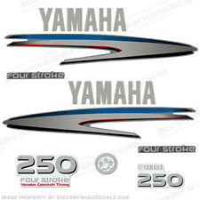 Yamaha Outboard Motor Decal Kit 250 hp 4 Stroke Kit - Marine Grade Decals