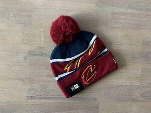 New Era NBA Cleveland Cavaliers Knit Pom Beanie