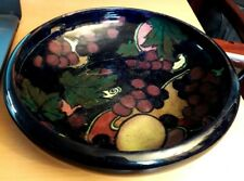 "Vintage Art Deco Royal Stanley Ware ""Jacobean"" Medium Fruit Bowl 22cms Diameter"