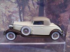 1/43 BROOKLIN MODELS 1932 PACKARD LIGHT 8  white metal